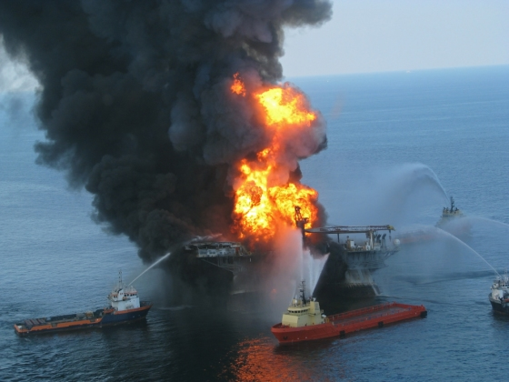 Deepwater Horizon in Brand, 2010