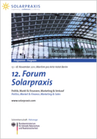 12. Forum Solarpraxis in Berlin beendet