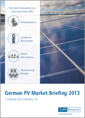 EuPD Konferenz: German PV Market Briefing 2013
