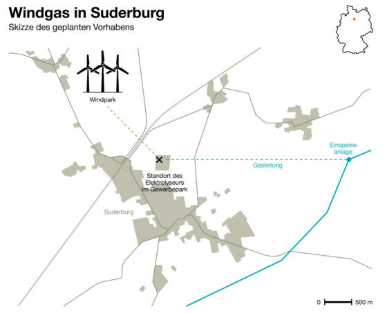 GreenpeaceEnergy: Windgas in Suderburg