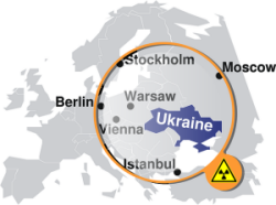 Fell: Atomunfall in der Ukraine