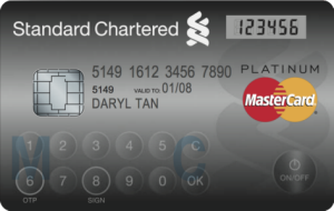 MasterCard Display Card