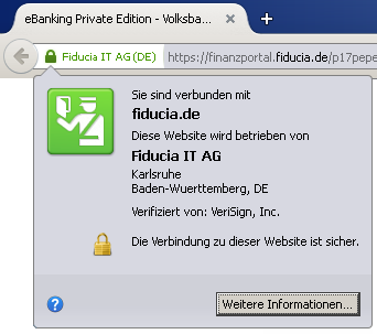 Website mit SSL 1