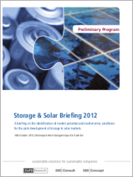 EuPD Research: Storage & Solar Briefing 2012