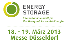 Speicherkonferenz: Energy Storage - International Summit for the Storage of Renewable Energies