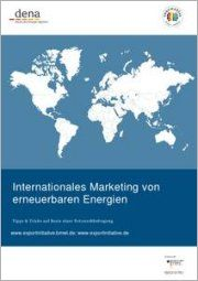 dena: Exportinitiative Erneuerbare Energien publiziert Tipps & Tricks für das internationale Marketing